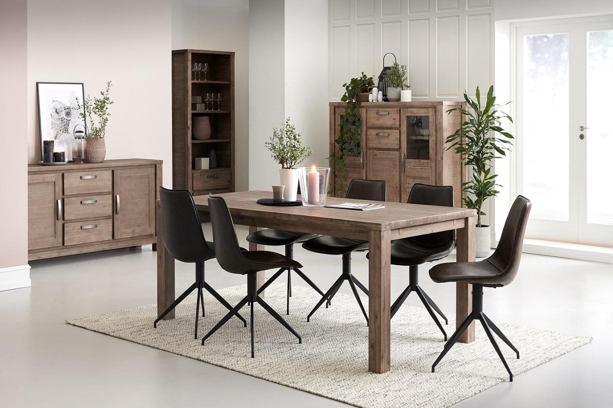 Furnistore Elegantný jedálenský stôl rozkladací Aarav, 200 cm