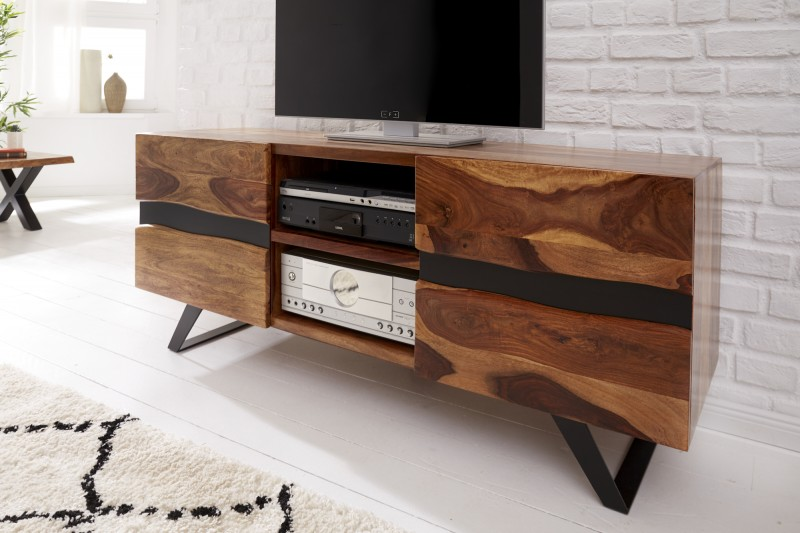 LuxD Dizajnový TV stolík Argentinas 160 cm sheesham