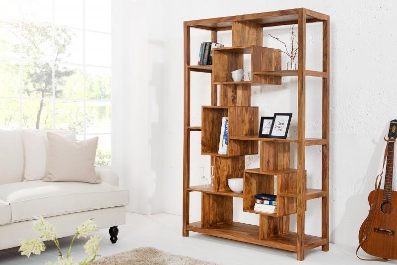LuxD Luxusný regál Timber 180 cm, Sheesham