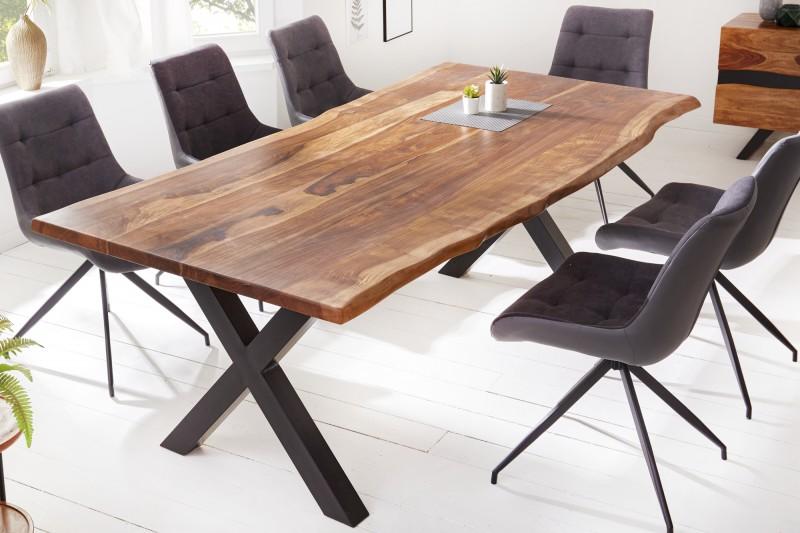 LuxD Dizajnový jedálenský stôl Argentinas X 180 cm sheesham