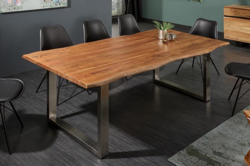 LuxD Luxusný jedálenský stôl z masívu Massive II 200cm