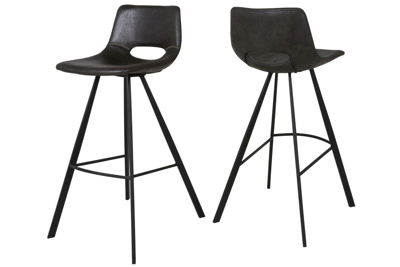 Barová stolička Izabella 98 cm / čierna