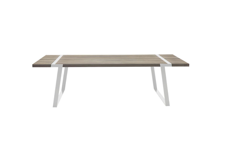 Jedálenský stôl Annie 240 - 360 cm / biela