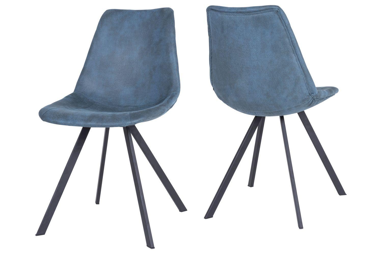 Jedálenská stolička Avril / petrolejová