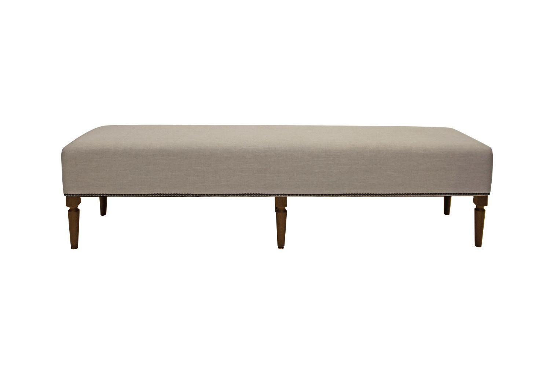 Dizajnová lavica Andrea 190 cm / kávová
