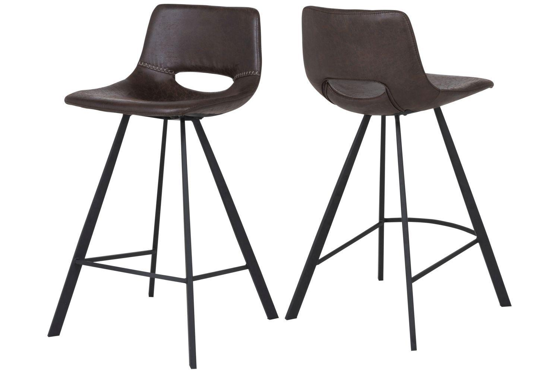 Barová stolička Izabella 87 cm  / tmavo hnedá