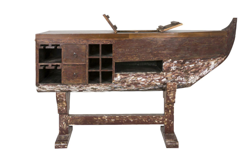 Barový stôl Boat / hnedá