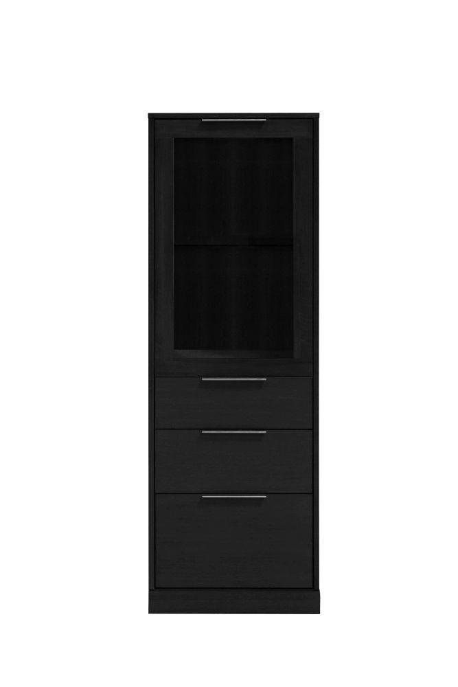 Dizajnová komoda Franco / 1 dverová čierna