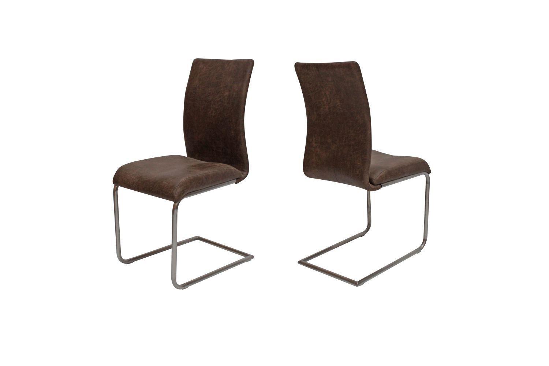 Jedálenská stolička Gwan / hnedá