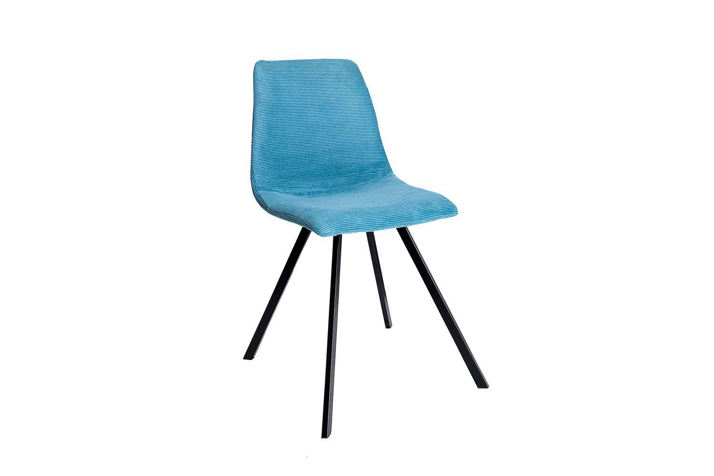 Dizajnová stolička Rotterdam Retro / tyrkysová