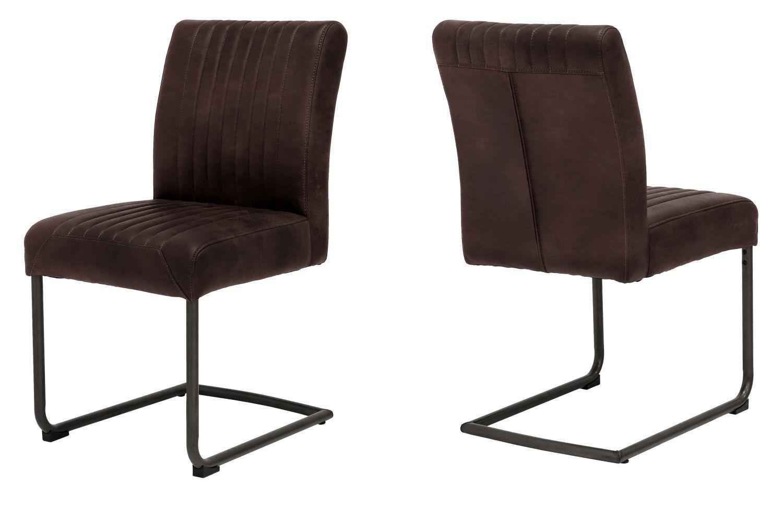 Dizajnová stolička Karla / hnedá