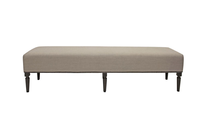Dizajnová lavica Andrea 190 cm / dymová