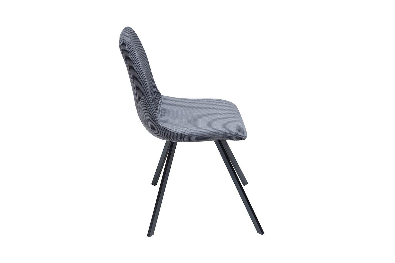 Dizajnová stolička Rotterdam Retro / tmavo sivá