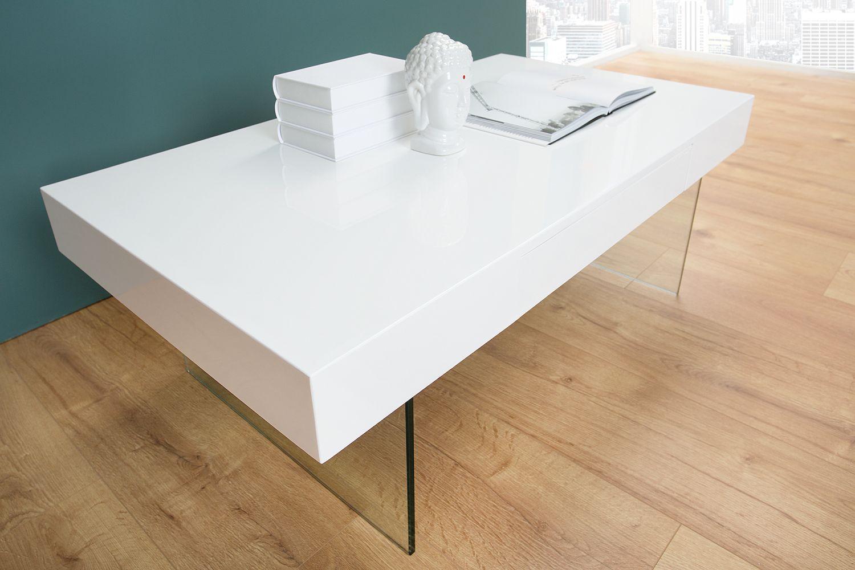 Konferenčný stolík Rior / biela