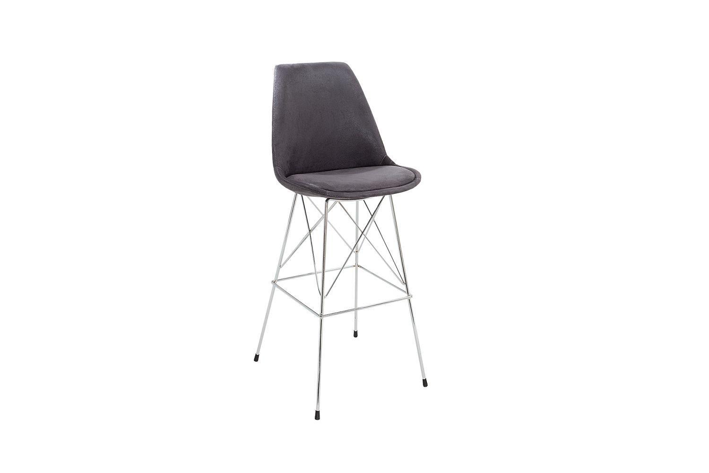 Dizajnová barová stolička Sweden retro / antická šedá