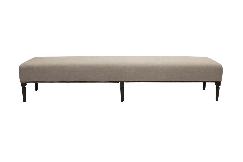 Dizajnová lavica Andrea 240 cm / dymová