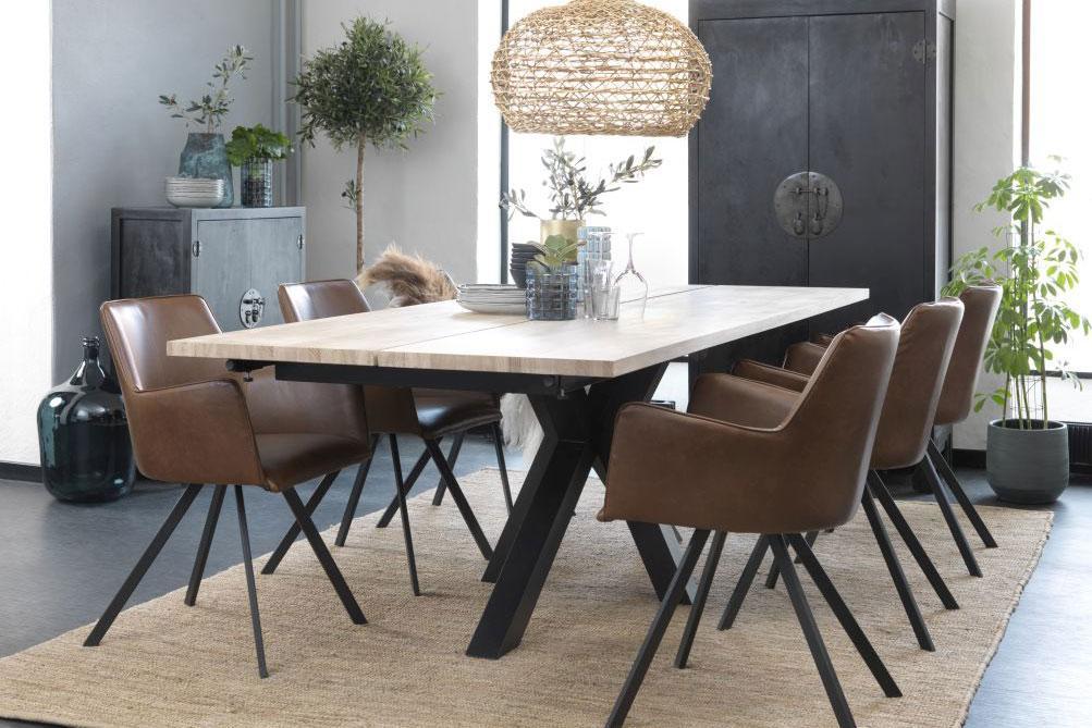 Dizajnový jedálenský stôl Madie 180 - 280 cm