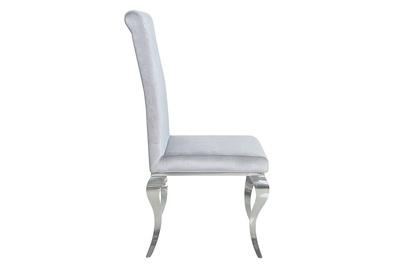 Dizajnová stolička Rococo šedá