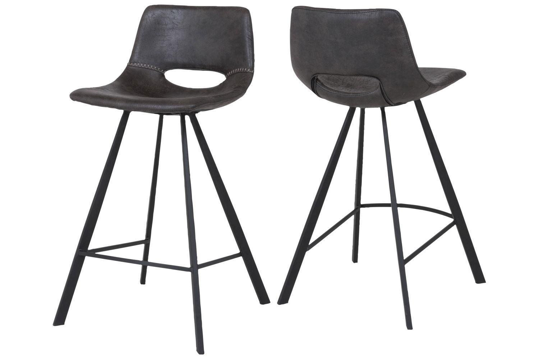 Dizajnové barové stoličky  Barová stolička Izabella 87 cm   čierna 4cbee65b32e