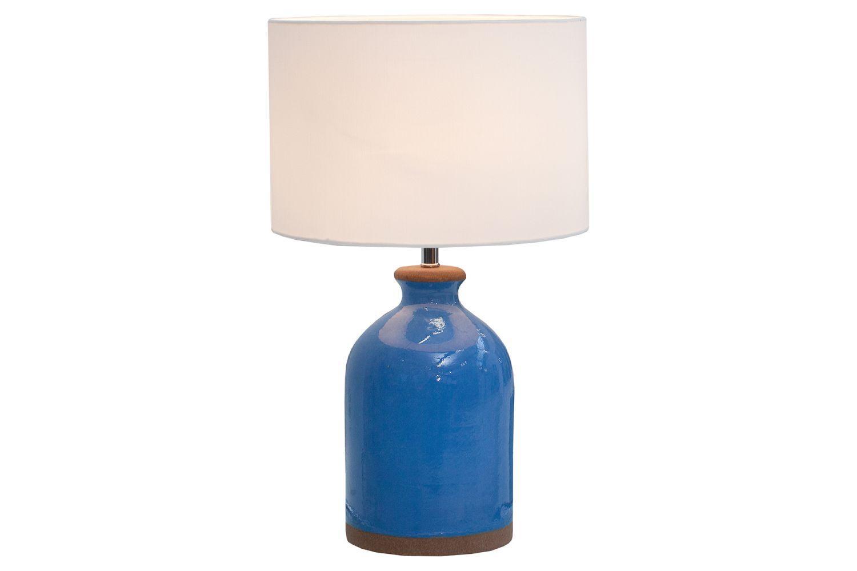 Stolná lampa Klasik 60 cm / modrá