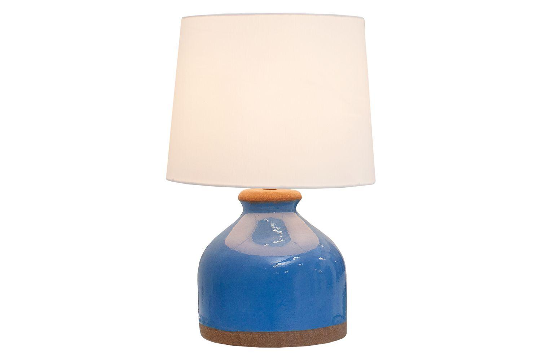 Stolná lampa Klasik 50 cm / modrá