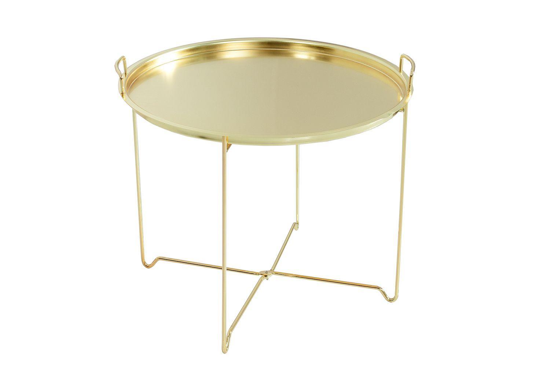 Konferenčný stolík Maroko /zlatý