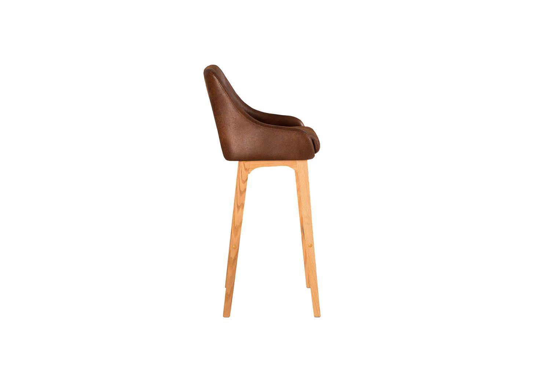 Dizajnová barová stolička Sweden / antická hnedá