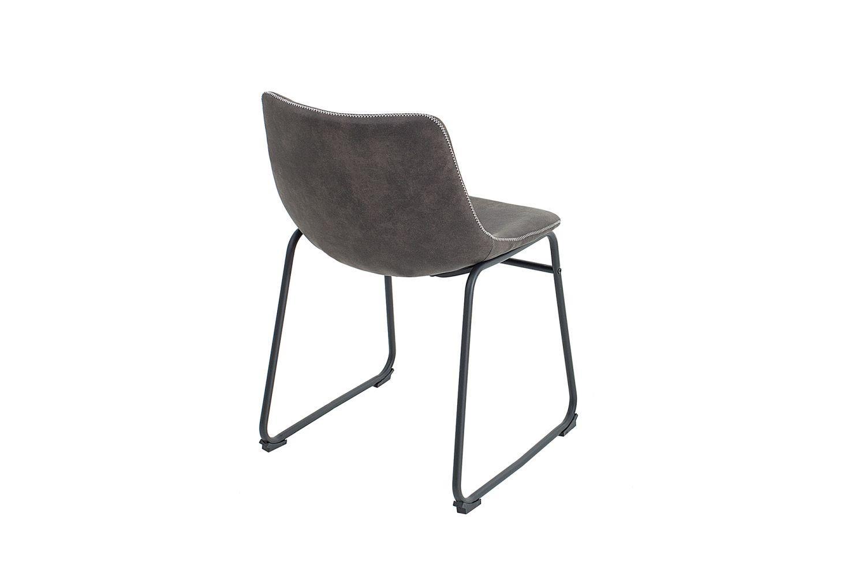 Dizajnová stolička Alba / vintage sivá  - Skladom na SK