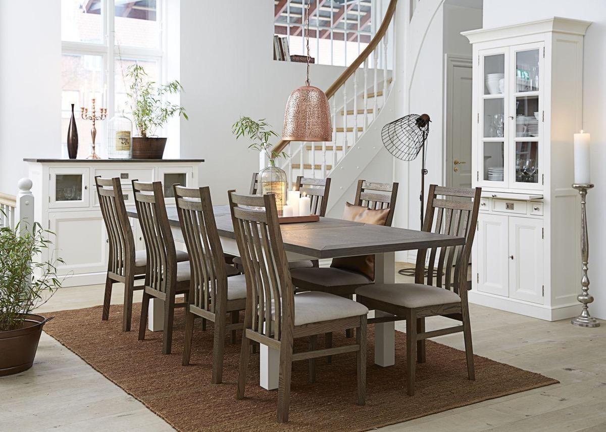 Jedálenský stôl Amsterdam rozkladací 160 - 250 cm