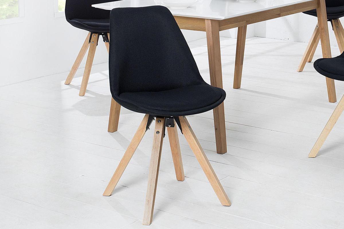Jedálenské stoličky - moderné  Stolička Sweden NewLook II čierna 82198507746