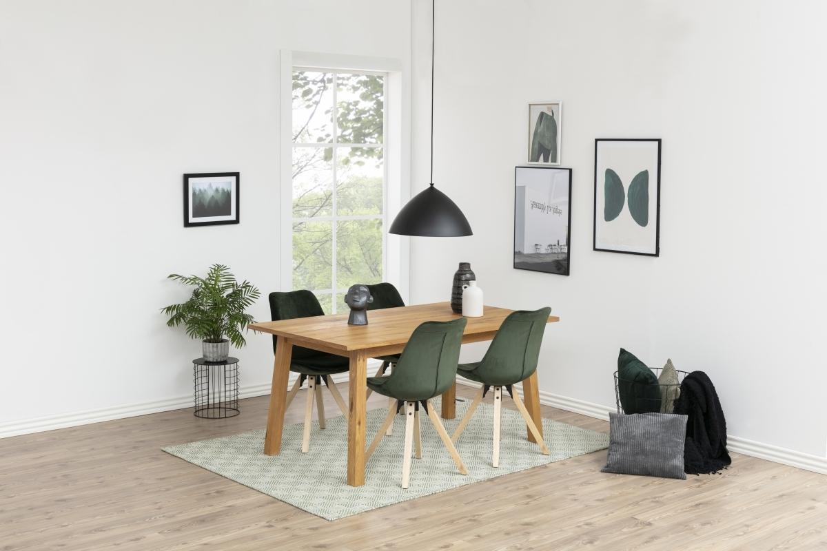 Dkton Jedálenský stôl Nadida 160 cm divoký dub