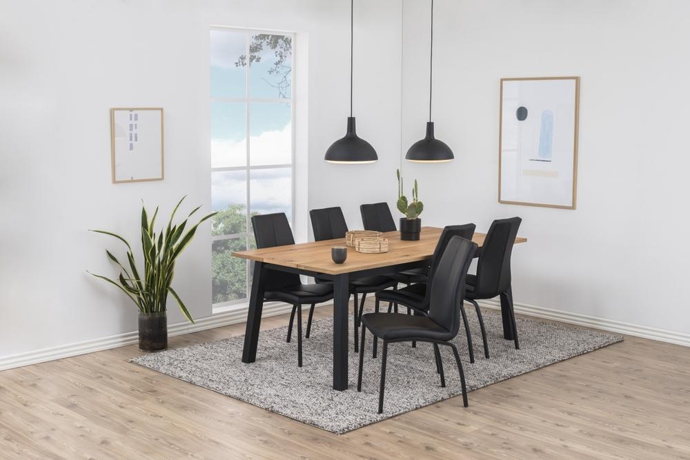 Dkton Jedálenský stôl Nadida 160 cm dyhové dosky