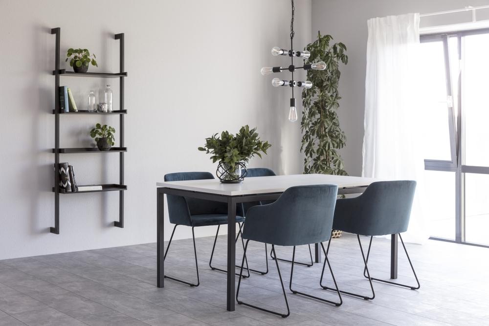 Dkton Jedálenský stôl Nahia 160 cm biely