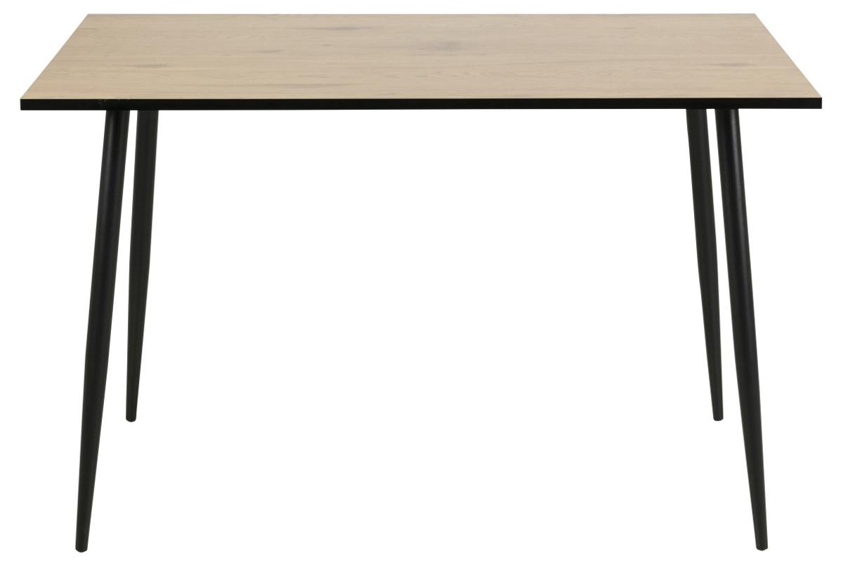 Dkton Jedálenský stôl Nayeli 120 cm divoký dub