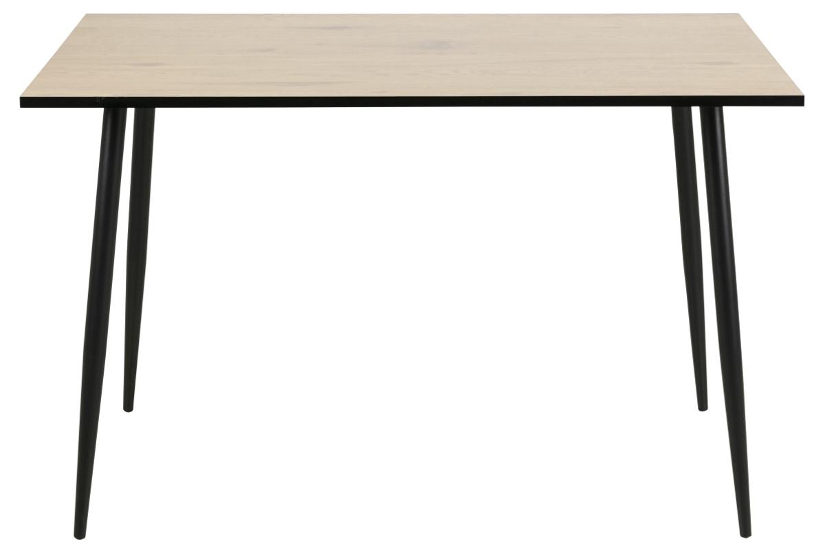 Dkton Jedálenský stôl Nayeli 120 cm divoký dub biely