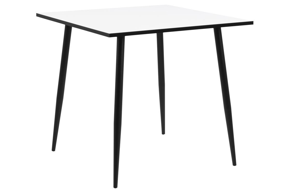 Dkton Jedálenský stôl Nayeli 80 cm biely