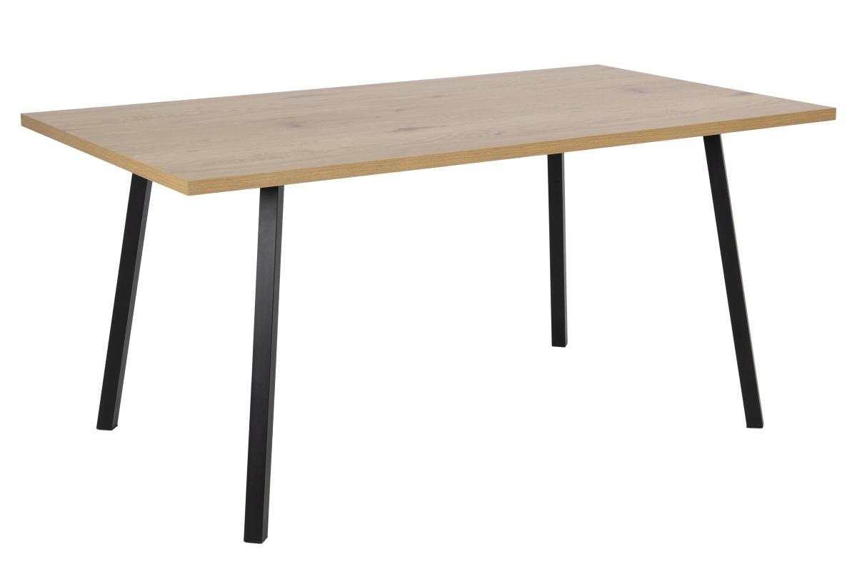 Dkton Jedálenský stôl Neave 160 cm divoký dub