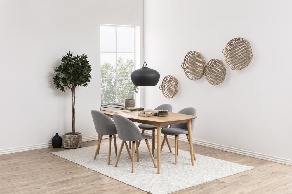 Dkton Jedálenský stôl Neelam 180 cm dub