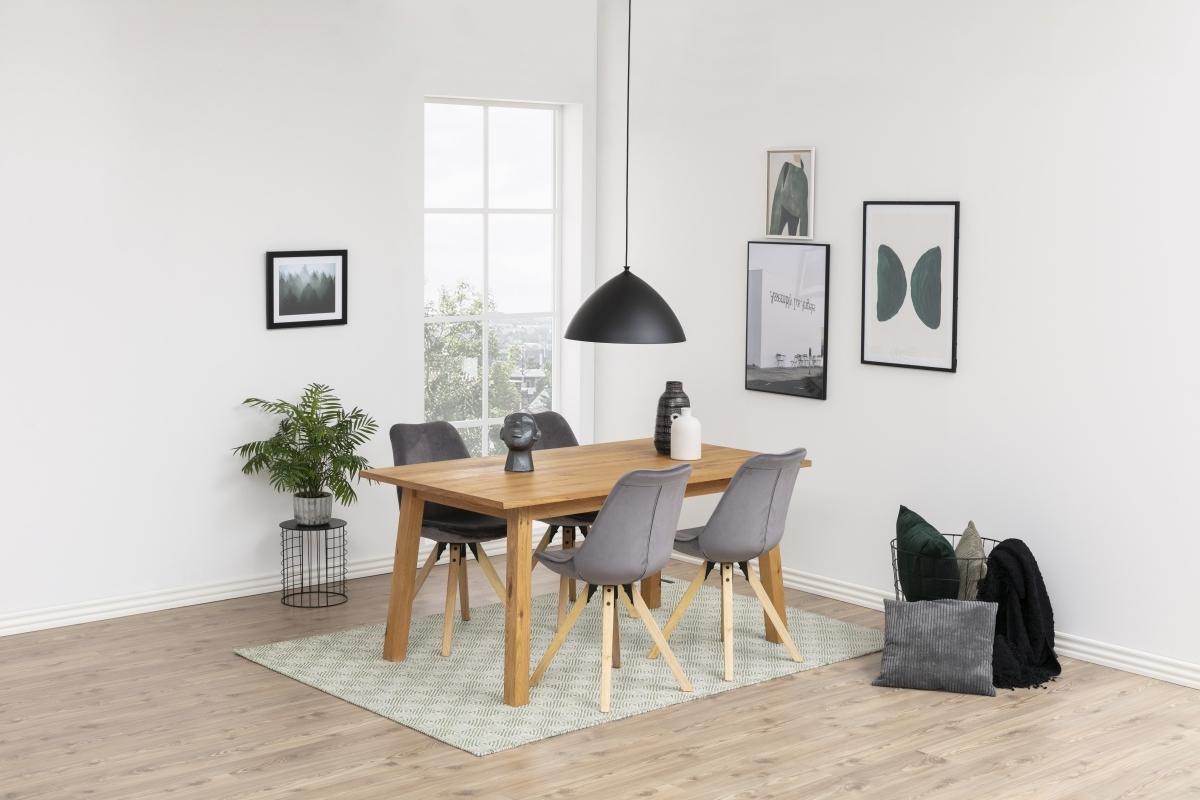 Dkton Jedálenský stôl rozkladací Nadida 2 160/250 cm dyhové dosky