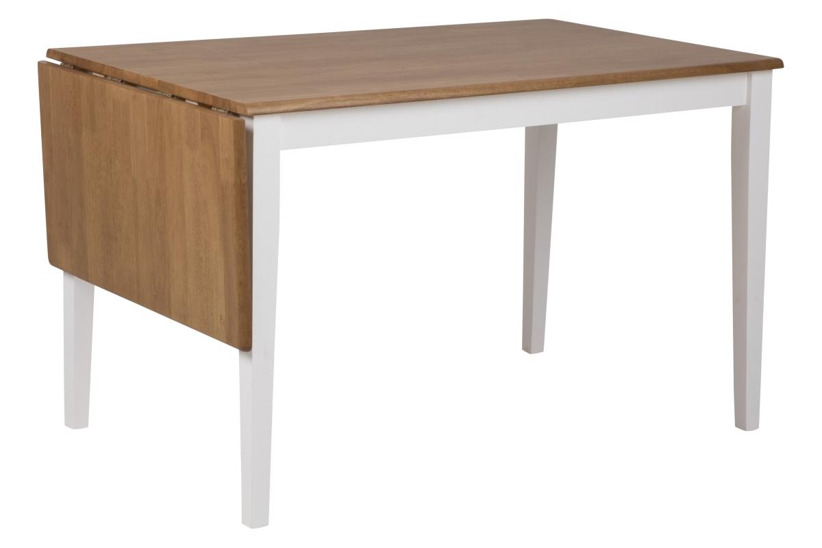Dkton Jedálenský stôl rozkladací Neaira 120/160 cm rubber dub