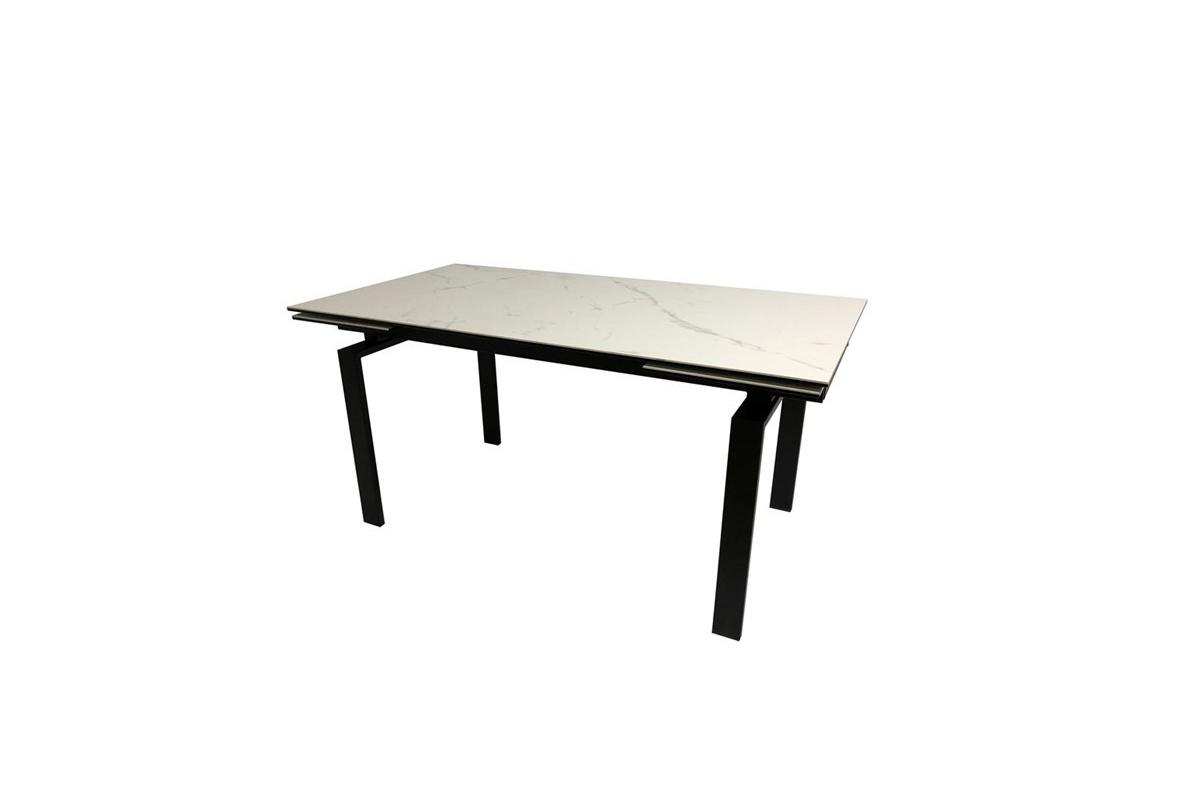 Dkton Jedálenský stôl rozkladací Neema 120/200 cm sklo