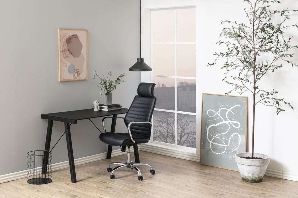 Dkton Kancelárska stolička Natalija, čierna