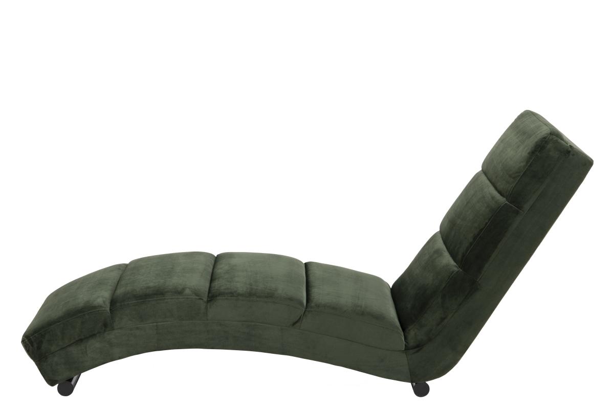 Dkton Luxusné relaxačné kreslo Nana, lesno zelené