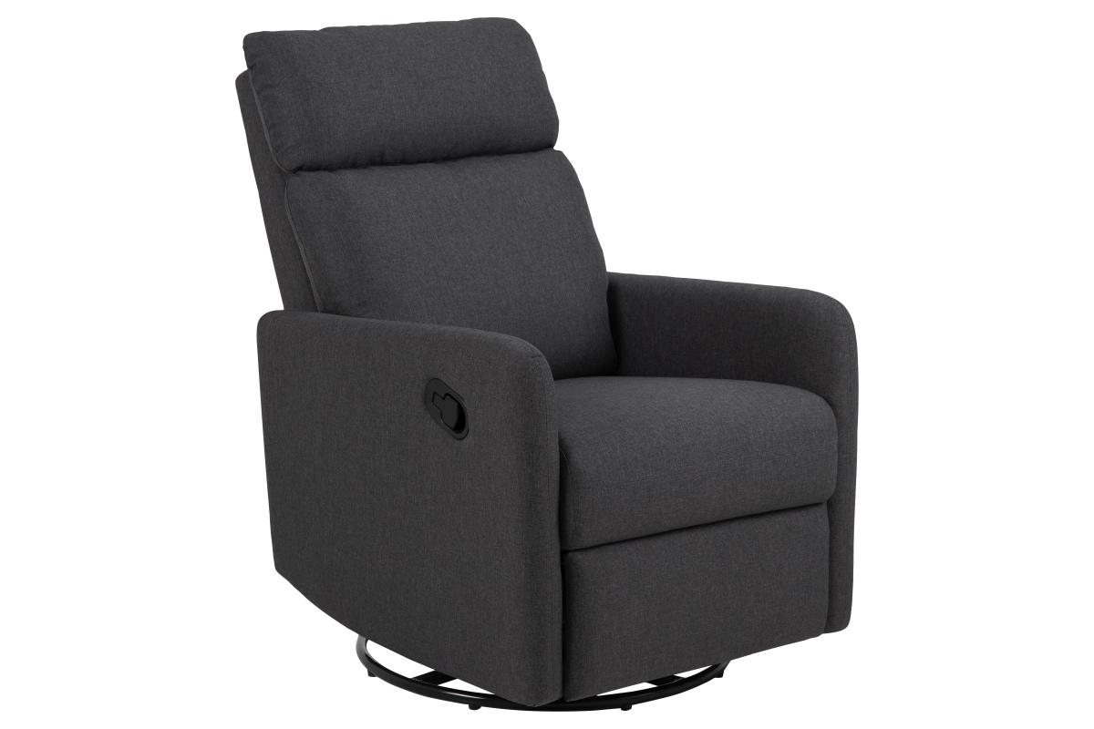 Dkton Luxusné relaxačné kreslo Nordica, šedé