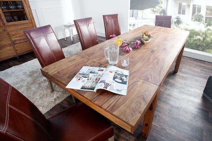 LuxD Jedálenský stôl z masívu rozkladací Las Palmas 160-240cm