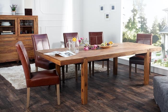 Jedálenský stôl z masívu rozkladací Las Palmas 160-240cm
