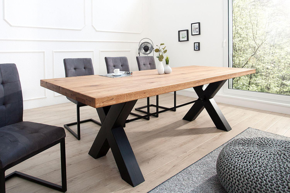 Luxusný jedálenský stôl  Thunder 240 cm / dub olejovaný