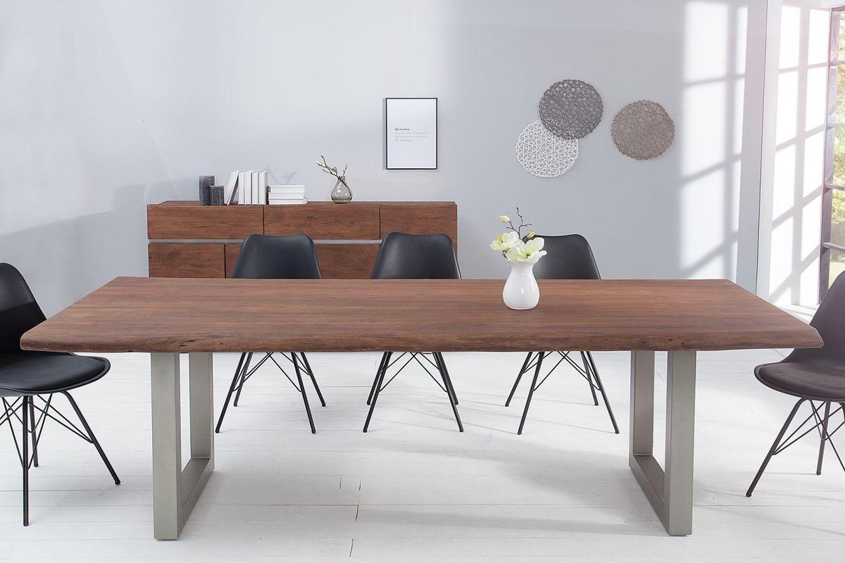 Luxusný jedálenský stôl z masívu Massive 240 cm / akácia