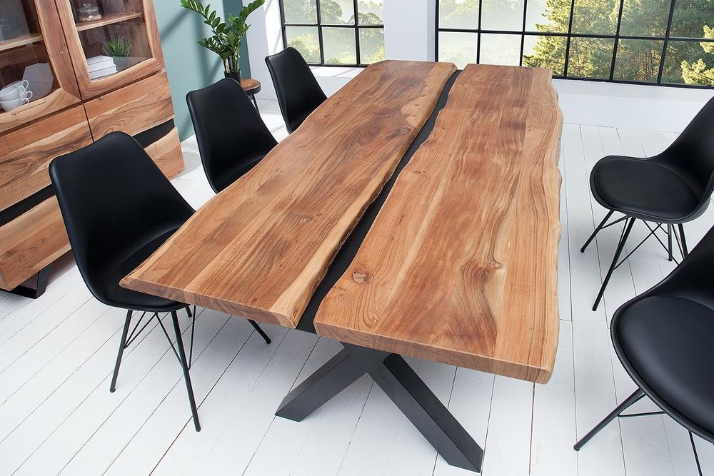 LuxD Luxusný jedálenský stôl Argentinas 200cm masív