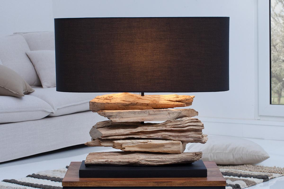 Stolná lampa Corey čierna